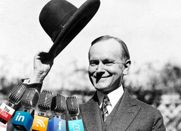 Na slici: Calvin Coolidge