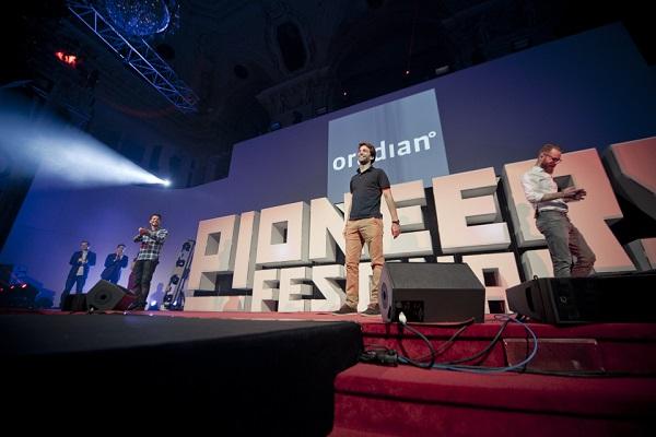 Oradian je već pobijedio na Pioneers Challengeu 2014. godine (slika: Pioneers Festival/Lichtschalter.tv; nechvile.cz)