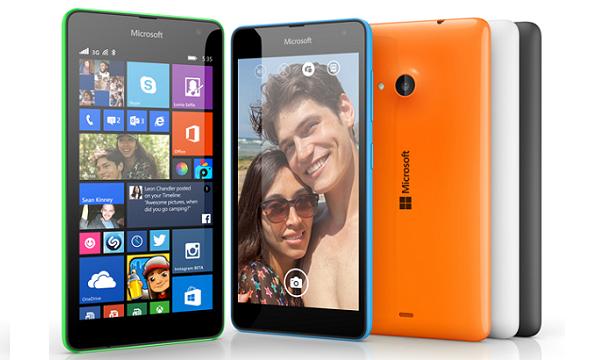 Sudeći prema specifikacijama, Lumia 535 cilja na mlađe generacije.