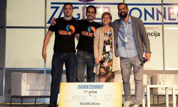 Mash.me, pobjednik natjecanja u sklopu Zagreb Connecta.