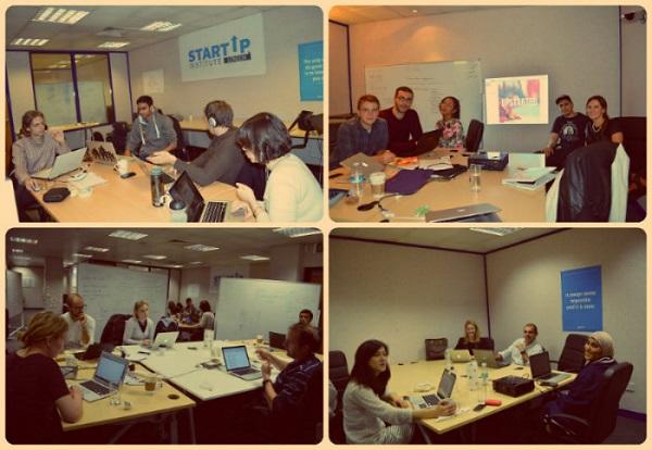 Rad u timovima u Startup Instituteu.