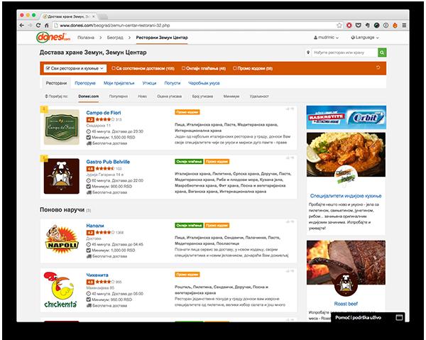 Zahvaljujući podršci zajednice i ranih korisnika, Donesi.com zadržao je svoju dominantu poziciju.