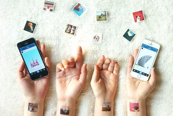 Instagram tetovaza