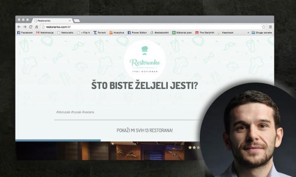 Ivan Ivanković ispričao nam je svoja iskustva s razvojem Restoranka te zašto se odlučio na 'lean' pristup.