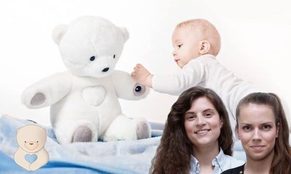 Osnivačice Teddy the Guardiana, Josipa Majić i Ana Burica.