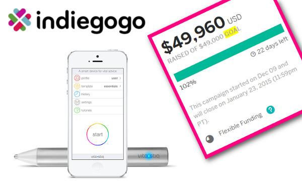 Unatoč podvojenim reakcijama, Vitastiq je na Indiegogo platformi prilično brzo skupio traženi iznos.