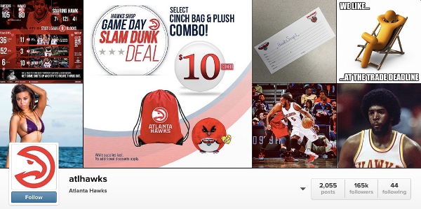 Atlanta Hawks Instagram