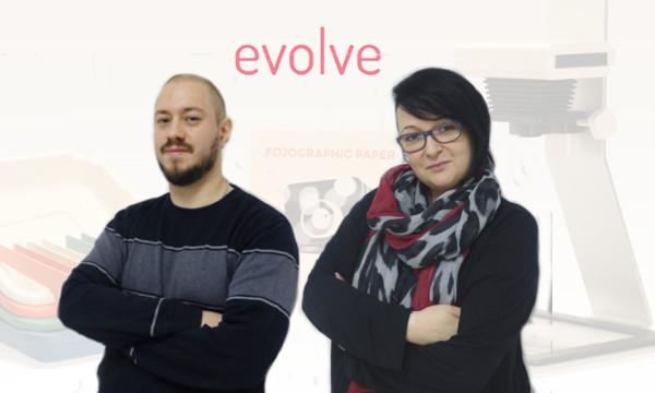 Kruno i Natalija osnivači su studija Evolve, koji nudi uslugu razvoja hardverskih proizvoda.