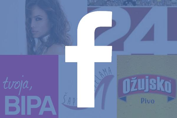 Facebook hrvatske stranice