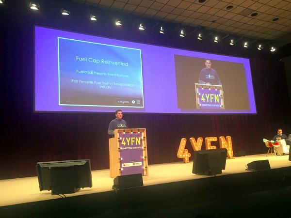 Fueloyal je osvojio drugo mjesto na konferenciji 4YFN, ali prvo na TechCrunch Meetupu. (slika: Jurica Magoći)