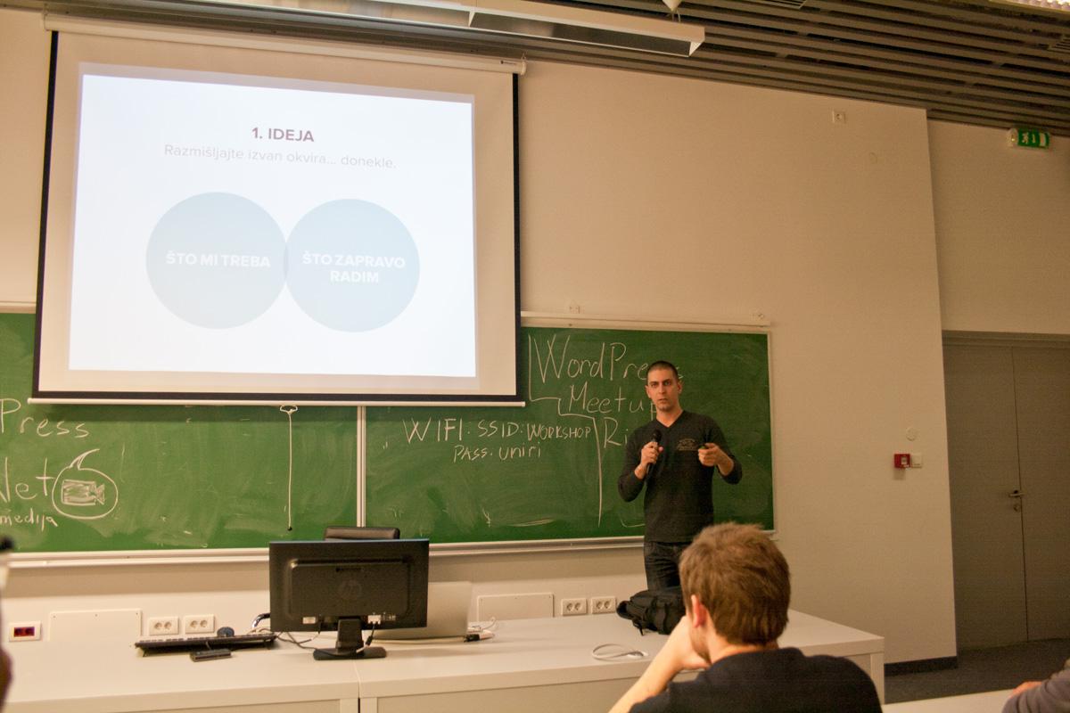 Natko Hasić govorio je o budućnosti administracije internet stranica – on smatra kako ćemo u budućnosti stranice uređivati u frontendu