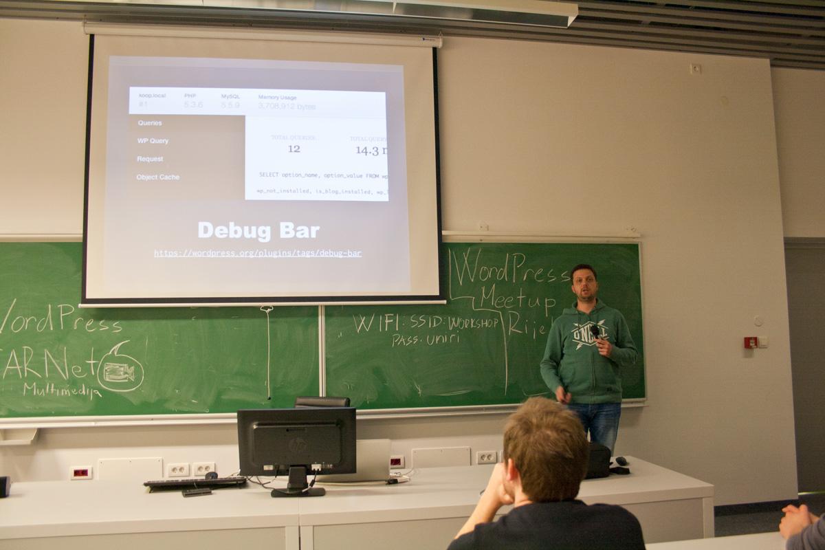Debug Bar je jedan od osnovnih alata za debugiranje WordPressa, kaže Ivan Blagdan