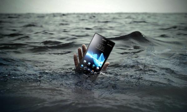 Srećom, Sony pravi vodootporne mobilne uređaje.