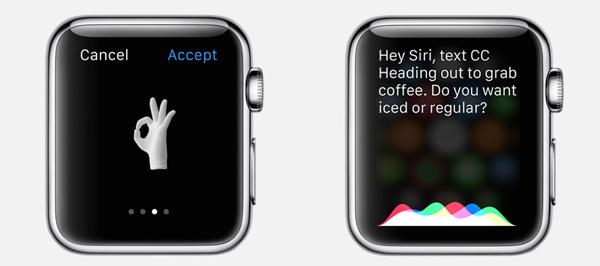 Tipkanje tekstualnih poruka na malom zaslonu nije opcija.
