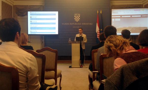 Marinko Brkić-Tot predstavio je svoj projekt Invest in Croatia koji prikuplja podatke o ulaganjima u Hrvatske projekte i prezentira ih potencijalnim investitorima.