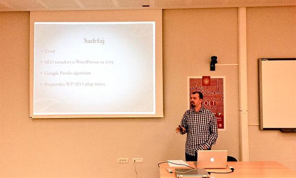 Dragan Barišić je pričao o SEO optimizaciji i Google Pandi