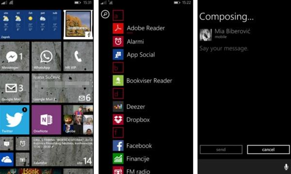 Početni zaslon na Windows Phoneu je iznimno funkcionalna stavka koja ubrzava većinu radnji.