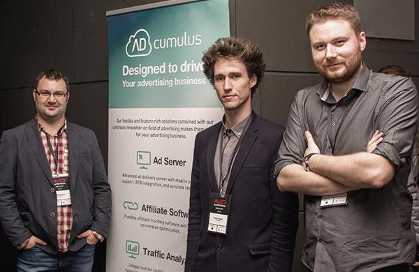 Menadžment AdCumulusa: Zlatan Garibović, Head of Technical Operations, Gordan Kreković, CEO, i Siniša Kravaršćan, Product Manager