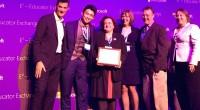 """Internacionalni tim s Lidijom Kralj dobio je nagradu za projekt """"Personificirana hrabrost""""."""