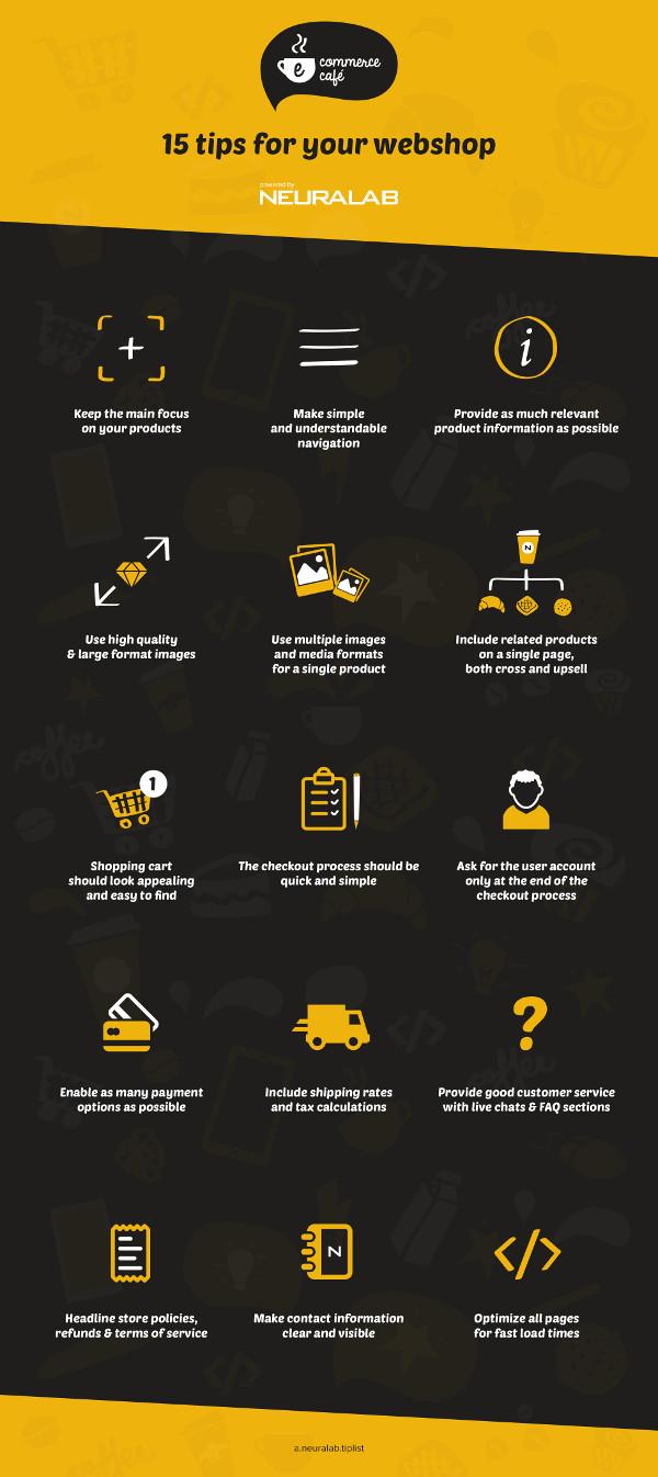 Info-eCommerce tips