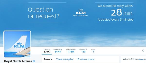 KLM tw