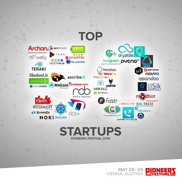 Među najboljih 50 startupa našao se hrvatski Smart Lumies (slika: Pioneers)
