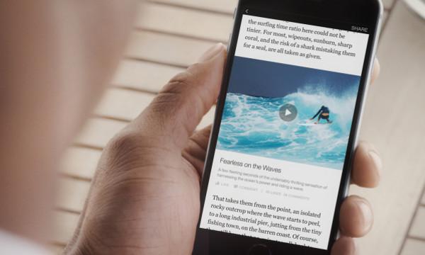 Članci odražavaju vizualni identitet medija, ali su na Facebookovim serverima. (Slika: Facebook blog)