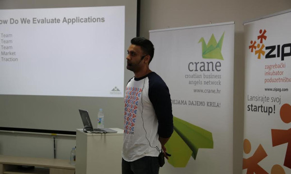 Na startup srijedi, KJ Singh pričao je o programu TechStarsa.