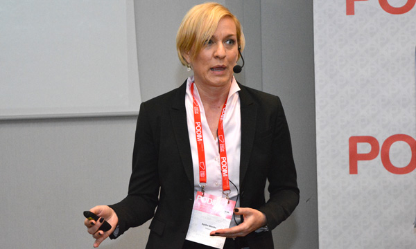 Monika Byléhn, Ericsson o budućnosti umreženog društva (foto: Janez Klemenčič).