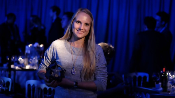Bellabeatova Urska Sršen preuzela je The Europas nagradu u Londonu.