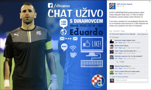 Dinamo vizuali - dobra komunikacija s navijačima