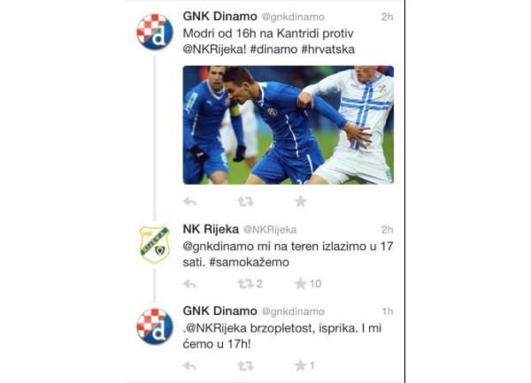 Rijeka - Twitter komunikacija