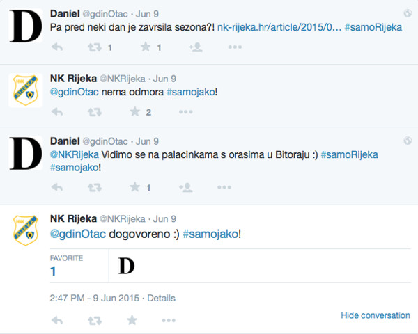Rijeka i komunikacija na Twitteru 2