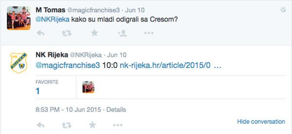 Rijeka i komunikacija na Twitteru 3