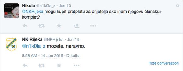 Rijeka i komunikacija na Twitteru 5