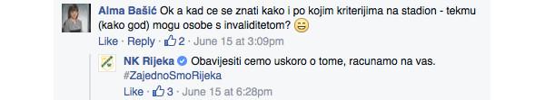 Rijeka komunikacija na Facebooku