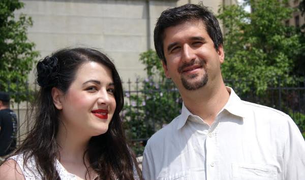 Na slici: Mia Bašić Stanić, koordinatorica ljudskih potencijala, i Frane Miloš, direktor Amphinicy Technologies.