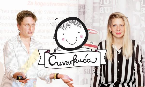Iva Ušćumlić Gretić i Nina Išek Međugorac, idejne začetnice portala Čuvarkuća.hr