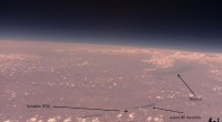 Sonda je prešla više od 20 kilometara u visinu.