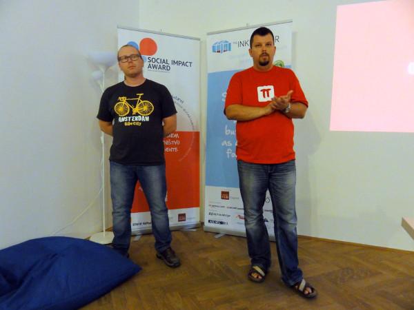 Emanuel i Lucijan Blagonić razbili su led svojim pričama o neuspjehu (Snimila Marina Filipović Marinshe)