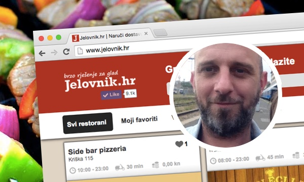 Ivan Šetka, poznat po projektu Foodspots, sada vodi Jelovnik.hr.