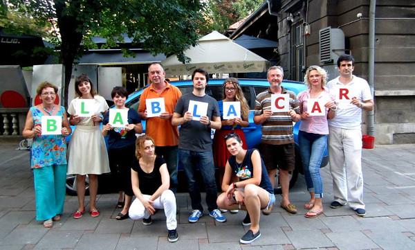 Božica Božinov na BlaBlaTouru u Zagrebu (slike: Božica Božinov)