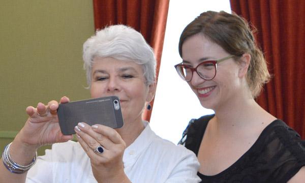 Jadranka Kosor i Ana Eterović