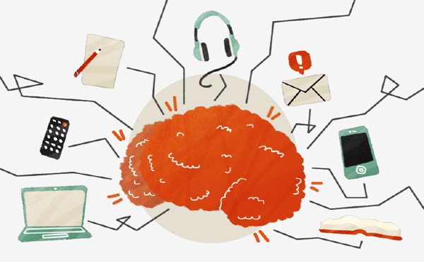 Dio infografika sa Business Insidera. Naslov članka. »Multitasking is making you dumb.« Hmmm :)