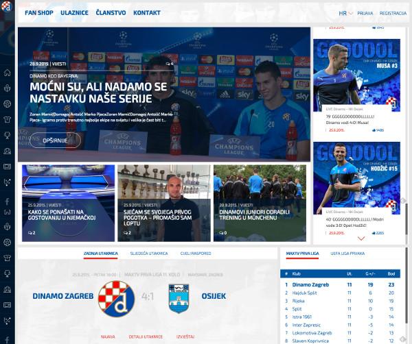 Dinamo web