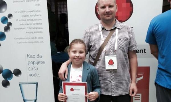 Dora Jakopec s tatom Tomislavom (Slika: Nataša Jakopec, mama)