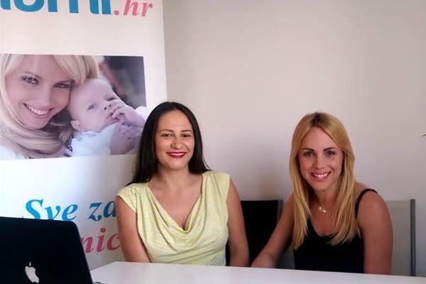 Ana Pejić Riha, Kanapejić komunikacije, i Mirna Maras, začetnica projekta MaMi.hr.