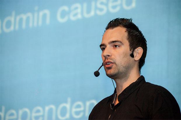 Marko Heijnen pričao je o svojoj povijesti hostinga. Autor fotografije: Neuralab