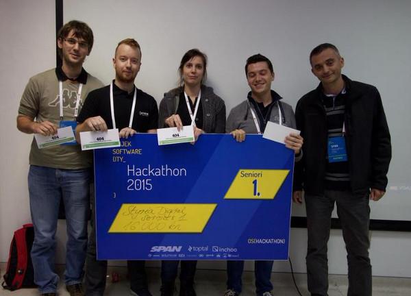 Styria Digital Services odnijeli su prvo mjesto u seniorskom dijelu natjecanja (Slika: Tomislav Jakopec)