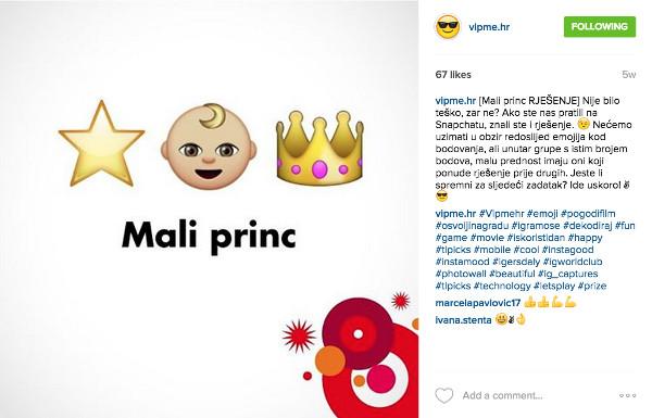 Na Instagramu su sudionici dobivali mozgalice, a dodatne tragove na Snapchatu.